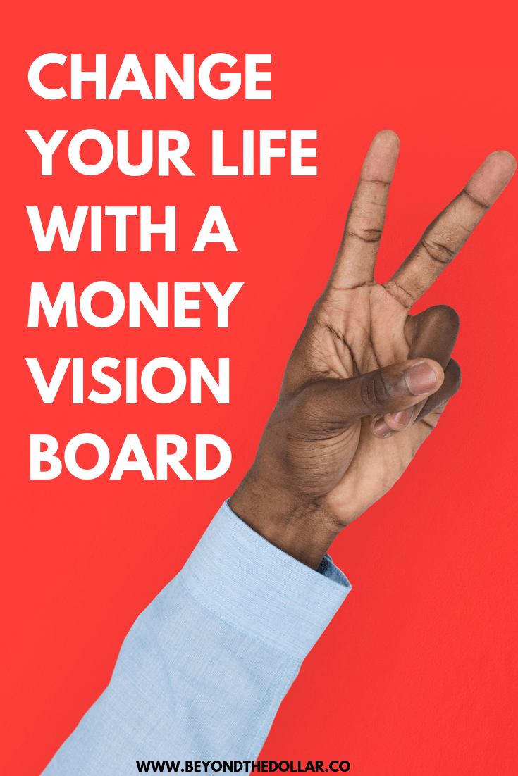 Learn how to make a money vision to help your dreams come true! #money #makemoney #savemoney